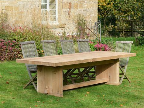 Garden Dining Table The Quercus Robur Garden Dining Table Architectural Heritage