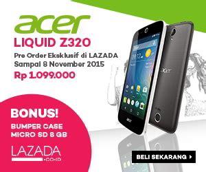 Micro Sd Di Lazada promo lazada acer liquid z320 pre order gratis bumper microsd selalutekno