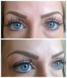 feather touch brow tattoo at aura cosmetic tattoo studio