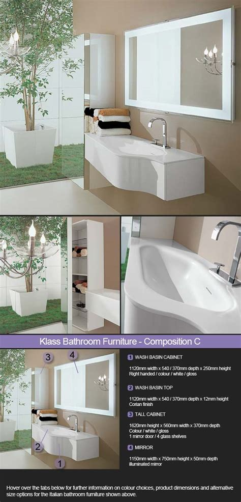 coloured bathroom furniture coloured white wall mounted bathroom furniture klass