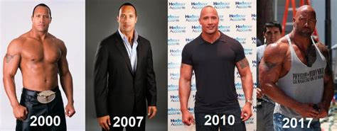 dwayne the rock johnson then and now is dwayne johnson the rock on steroids