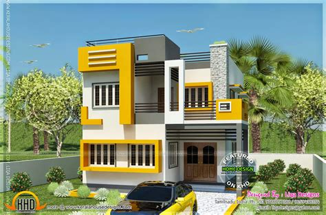 new model of house design new model house plan layout in tamilnadu style