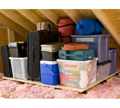 atticraft attic storage system in overhead garage storage