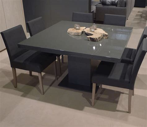 square extendable dining table contemporary dining