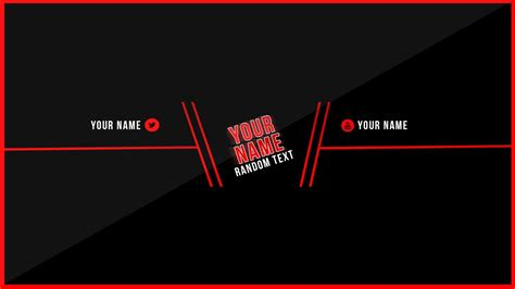 youtube banner template banner template