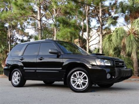 Subaru Forester Xt Manual by Sell Used 2004 Subaru Forester 2 5 Xt Turbo Awd No