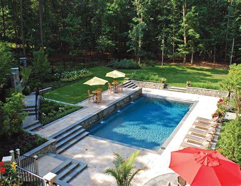 luxury backyard pools luxury pools md custom swimming pools maryland