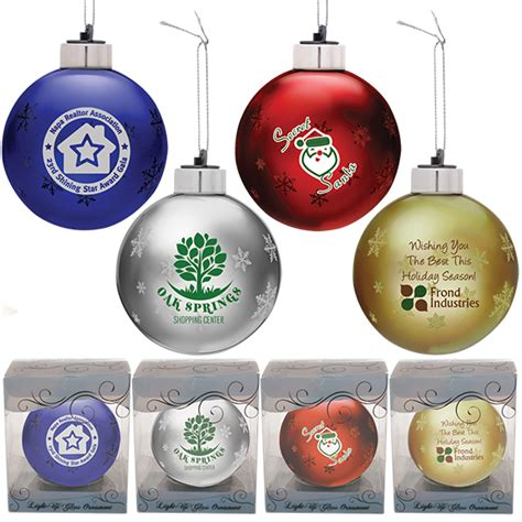 ornaments that light up light up glass ornament 20477