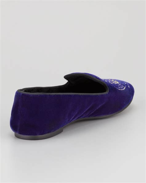 marc slippers lyst marc by marc velvet owl slipper in
