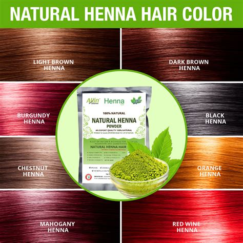 Organic Chemical Free Carefor by Henna Hair Color Mehndi For 100 Chemical Free