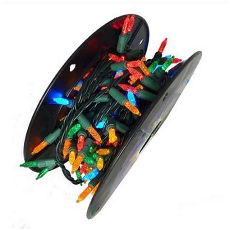 200 commercial length multi color led m5 christmas lights