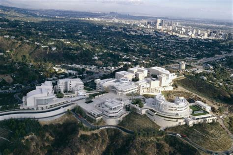 getty center art  brentwood los angeles
