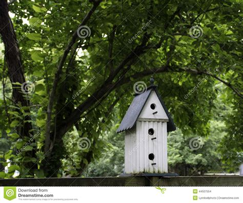 three story birdhouse stock photo image 44507554