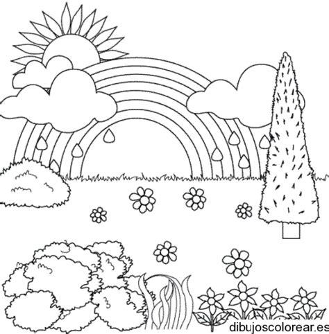 imagenes de paisajes faciles de hacer paisajes para colorear buscar con google primavera