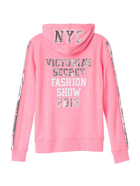 Jaket Secret Hoodie Gaming 2015 get s secret fashion show 2014 clothing collection pullover sequin hoodie and