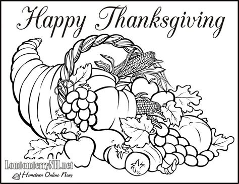 Disney Free Thanksgiving Coloring Pages Coloring Home