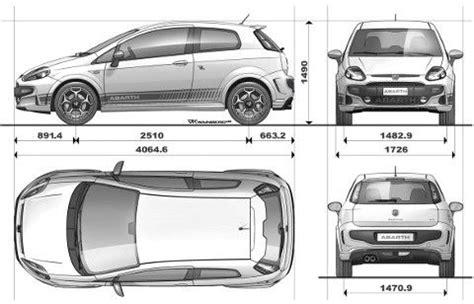 dimensioni abarth punto evo   Prezzi e dimensioni Auto