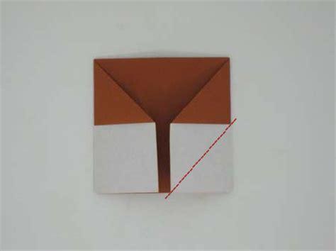 Fox Puppet Origami - origami fox puppet origami animals folding