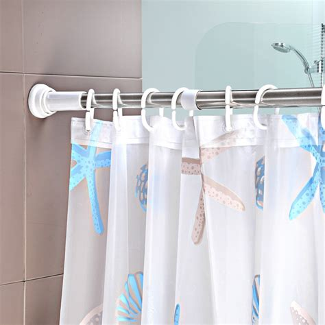portable shower curtain rod portable shower curtain curtain menzilperde net