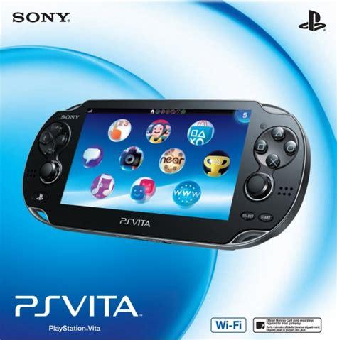 psp vita console console ps vita 1000 wi fi en boite psv console