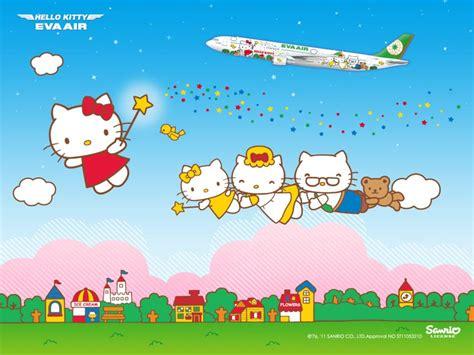 Hello Kitty Wallpaper Singapore | eva air hello kitty flight singapore blogger review