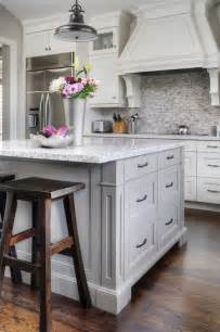 grey kitchen island transitional kitchen farrow and