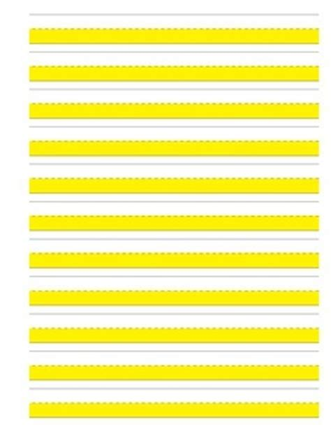 printable highlighted writing paper highlighted journal writing paper landscape vertical