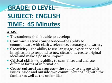 Ordinary Level Essay by Essays For Gce O Level The Dress