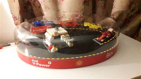 2015 Shell Lego Crossover Garage Display For Sales Onl calling shell lego collector