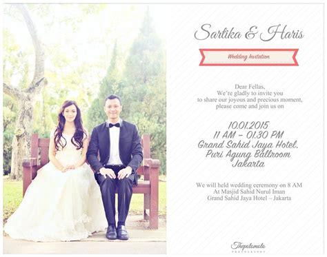 Hadiah Pernikahan Ilustrasi Pasangan Digital undangan pernikahan unik thepotomoto s