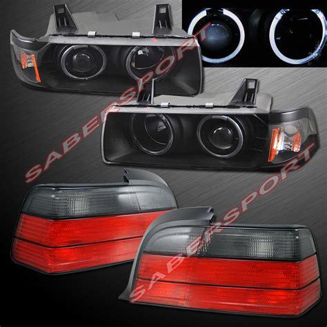 1992 1999 bmw e36 2dr coupe conv halo projector