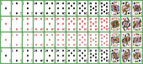 printable large deck of cards deck of cards images www pixshark com images galleries