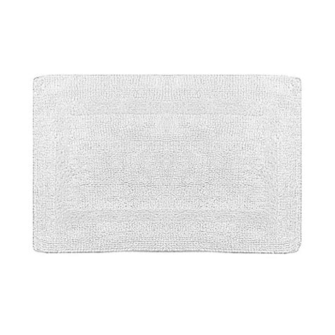 Wamsutta Reversible Bath Rug Buy Wamsutta 174 Reversible 30 Inch X 48 Inch Bath Rug In Chrome From Bed Bath Beyond