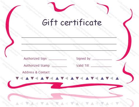 printable back rub gift certificates 25 best images about gift certificates on pinterest free
