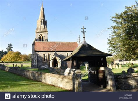 saint mark s church englefield berkshire stock photo st mark s church englefield berkshire which is to be the