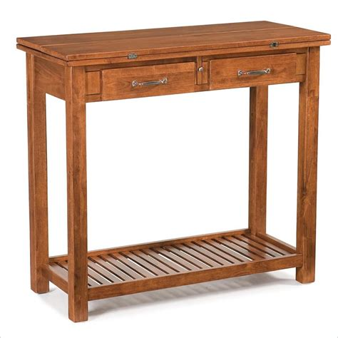 Home Styles Expandable Solid Wood Console Dining Table Ebay Expandable Sofa Table