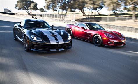 srt viper vs corvette 2013 srt viper gts vs 2013 chevrolet corvette zr1 by