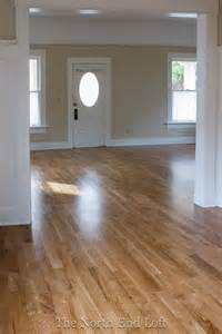 hardwood floors colors minwax special walnut on white oak floors how this