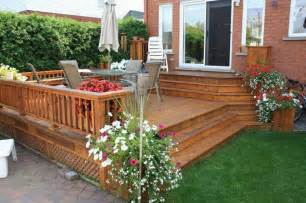 Deck And Patio Ideas For Small Backyards Patio And Deck Ideas For Backyard Marceladick