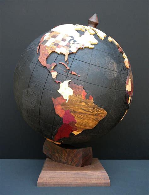 Handmade Globes - spirals by steve