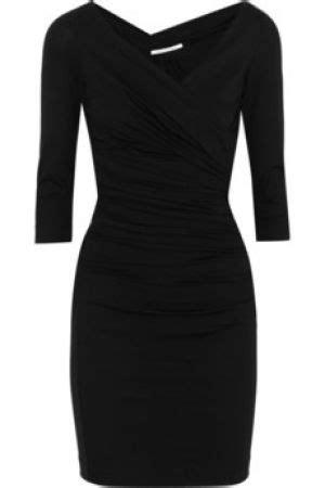 plain black cocktail dress
