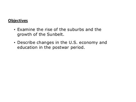 the business of america chapter 12 section 3 chapter 19 section 2 post war america