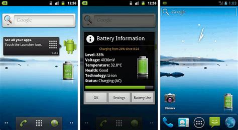 android phone with best battery best battery widgets for android phones and tablets android authority