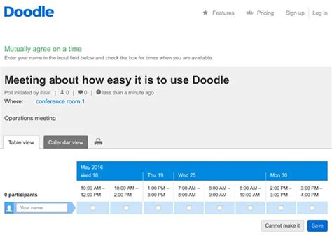 how to add participants on doodle md tech tips use doodle to schedule meetings quickly