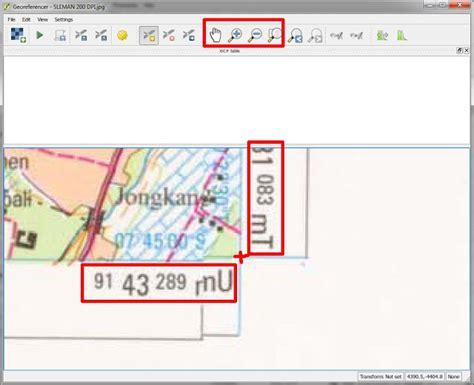 tutorial menggambar peta indonesia tutorial georeferencing pemberian titik ikat peta