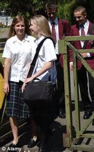 18 year old school girl teen in uniform giselle leon scheme to keep teens in school faces axe after it fails