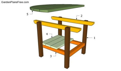 Build A Patio Table Patio Table Plans Free Garden Plans How To Build Garden Projects