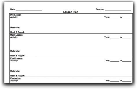 madeline hunter lesson plan format printable google
