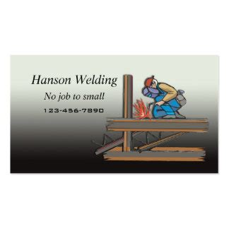 Welding Business Card Templates Free by Welding Business Cards And Business Card Templates