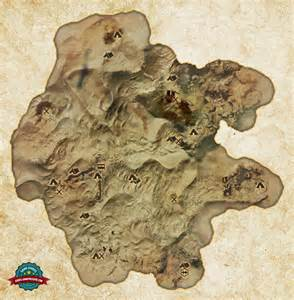 Hissing dragon age inquisition wastes map